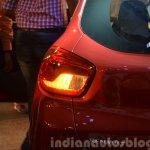Renault Kwid taillights India unveiling