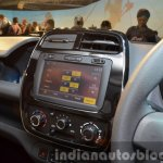 Renault Kwid touchscreen music system India unveiling