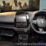 Renault Kwid two gloveboxes India unveiling