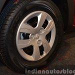 Renault Kwid wheel India unveiling
