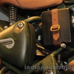 Royal Enfield Classic 500 Limited Edition Battle green despatch battery unveiled at new flagship store