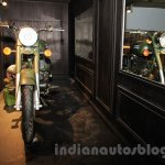 Royal Enfield Classic 500 Limited Edition Battle green despatch front unveiled at new flagship store