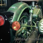 Royal Enfield Classic 500 Limited Edition Battle green despatch rear fender unveiled at new flagship store