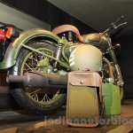 Royal Enfield Classic 500 Limited Edition Battle green despatch rear quarter unveiled at new flagship store