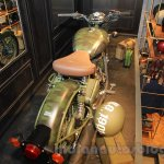 Royal Enfield Classic 500 Limited Edition Battle green despatch top view unveiled at new flagship store