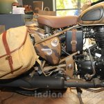 Royal Enfield Classic 500 Limited Edition Desert Storm despatch rear section unveiled at new flagship store