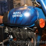 Royal Enfield Classic 500 Limited Edition Squadron Blue despatch fuel tank unveiled at new flagship store