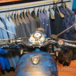 Royal Enfield Classic 500 Limited Edition Squadron Blue despatch handle bar unveiled at new flagship store
