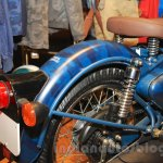 Royal Enfield Classic 500 Limited Edition Squadron Blue despatch rear fender unveiled at new flagship store