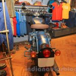 Royal Enfield Classic 500 Limited Edition Squadron Blue despatch rear unveiled at new flagship store