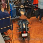 Royal Enfield Classic 500 Limited Edition Squadron Blue despatch top view unveiled at new flagship store
