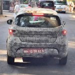 Tata Kite rear spotted on test car in Pune