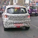 Tata Kite rear spotted testing in Bangalore