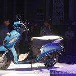 Yamaha Fascino Launch at Mumbai Left side