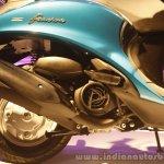 Yamaha Fascino Launch at Mumbai engine