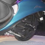 Yamaha Fascino Launch at Mumbai gearbox