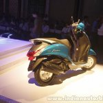 Yamaha Fascino Launch at Mumbai rear right quarter