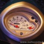 Yamaha Fascino Launch at Mumbai speedometer