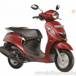 Yamaha Fascino Rouge Red