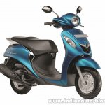 Yamaha Fascino Sassy Cyan