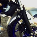 Yamaha MT 25 front wheel leaked