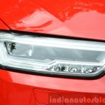 2015 Audi Q3 facelift LED headlight India Review