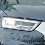 2015 Audi Q3 facelift LED headlights India Review