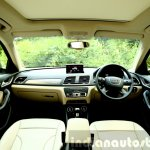 2015 Audi Q3 facelift dashboard India Review