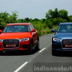 2015 Audi Q3 facelift front view India Review