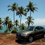 2015 Audi Q3 facelift new color India Review
