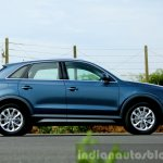 2015 Audi Q3 facelift new color side India Review