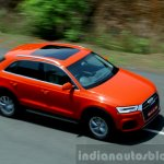 2015 Audi Q3 facelift panoramic sunroof India Review