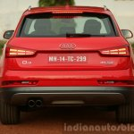 2015 Audi Q3 facelift rear India Review