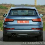 2015 Audi Q3 facelift rear angle India Review