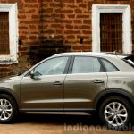 2015 Audi Q3 facelift rear quarter India Review