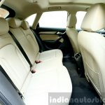 2015 Audi Q3 facelift rear seat India Review