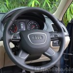 2015 Audi Q3 facelift steering India Review