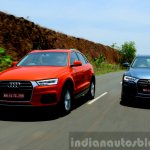 2015 Audi Q3 facelift tracking India Review