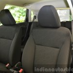 2015 Honda Jazz 1.2 VX MT front seat fabric India