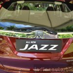 2015 Honda Jazz 1.2 VX MT rear chrome garnish India
