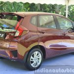 2015 Honda Jazz 1.2 VX MT rear quarter India