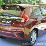 2015 Honda Jazz 1.2 VX MT rear quarters India
