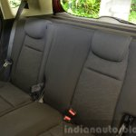 2015 Honda Jazz 1.2 VX MT rear seat back India