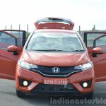 2015 Honda Jazz Diesel VX MT doors open Review