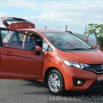 2015 Honda Jazz Diesel VX MT doors open front Review
