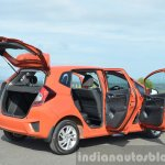 2015 Honda Jazz Diesel VX MT doors open rear Review