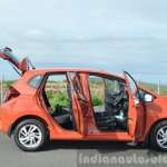 2015 Honda Jazz Diesel VX MT doors open side Review