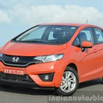 2015 Honda Jazz Diesel VX MT front three quarter Review
