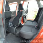 2015 Honda Jazz Diesel VX MT rear legroom Review