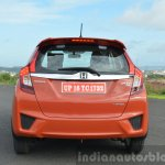 2015 Honda Jazz Diesel VX MT rear lights on Review